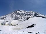 雪の無い旭岳