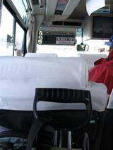 やられた後はバスでヒラフに帰ります。
