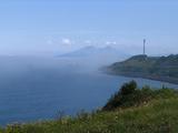 駒ケ岳と海