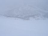 まっさらな雪面
