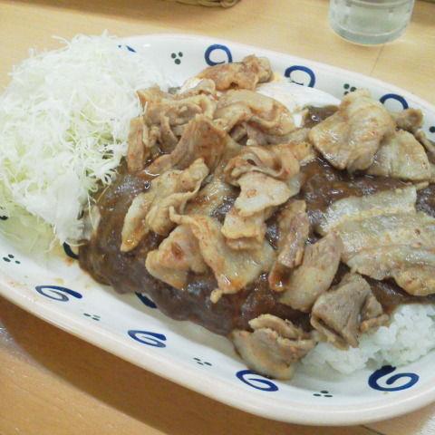 浅田 スタミナカレーの店 バーグ スタ焼 : それでも俺は喰い ...