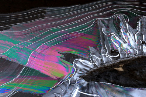 初冬の振る舞い・虹色彩氷を楽しむ!