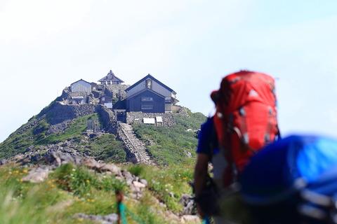 月山de遊山(その1・前編)!(姥沢口から頂上を経て念仏ヶ原へ!)