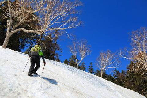 残雪の燧ヶ岳を登る!
