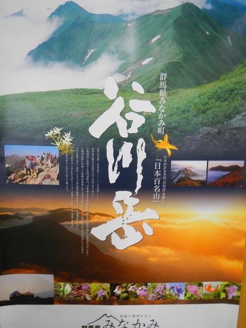 谷川岳(日本百名山:馬蹄形縦走を目指して挫折する!)