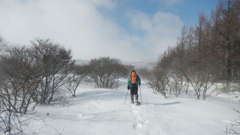 安達太良山(冬の日本百名山:くろがね小屋泊!)