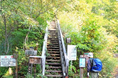 会津駒ヶ岳(深秋を先取りする美しさ!稜線の草紅葉と樹林帯の紅葉)