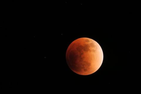 里山&夕焼け散歩、そして皆既月食で締めくくる!