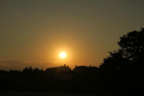 夕焼け散歩(10月01日)