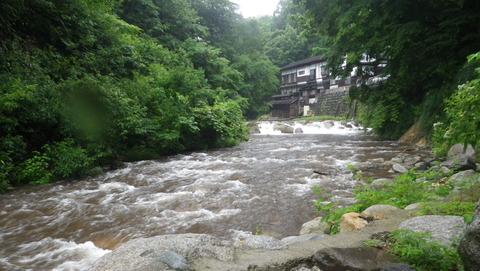 雨・・・会津駒ヶ岳登山を断念、とても残念!木賊温泉に立ち寄り
