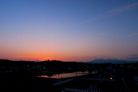 夕焼け散歩!(4月20日)