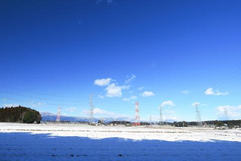 晴天無風の里山散策!(南岸低気圧通過後の雪景色)