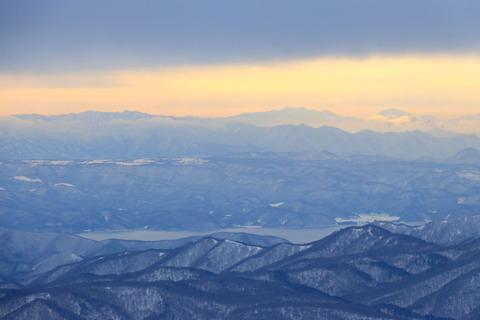 冬の安達太良山:一日目!