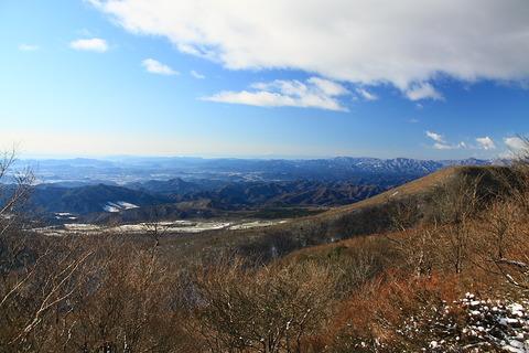 高原山山魂(スカイツリーも見えた!富士山もくっきり!好展望の山旅!)