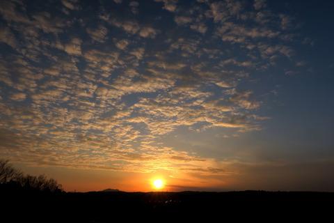 今日も黄昏て、夕焼け散歩!(R03.02.01)