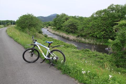 今日の午後は自転車散歩!