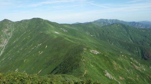 朝日連峰・・・悪天候から好天気へ・最高の山旅!