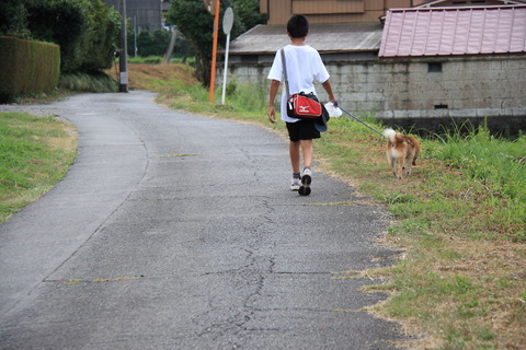愛犬と僕ちゃんと、私の夏休み!