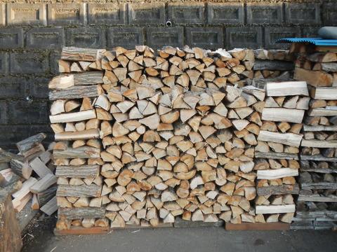 来冬のための薪づくり(薪割り作業№3)