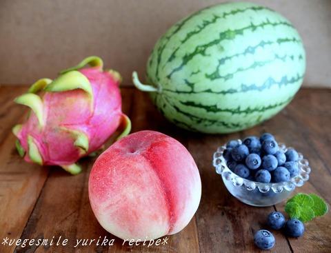 夏の果物小