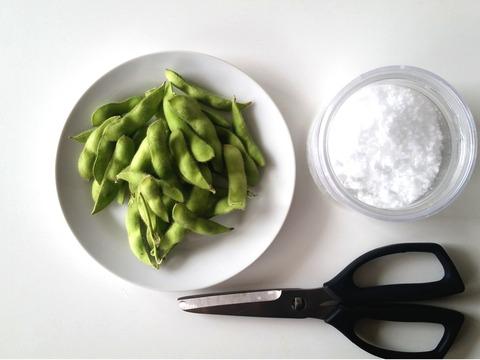 枝豆・塩・
