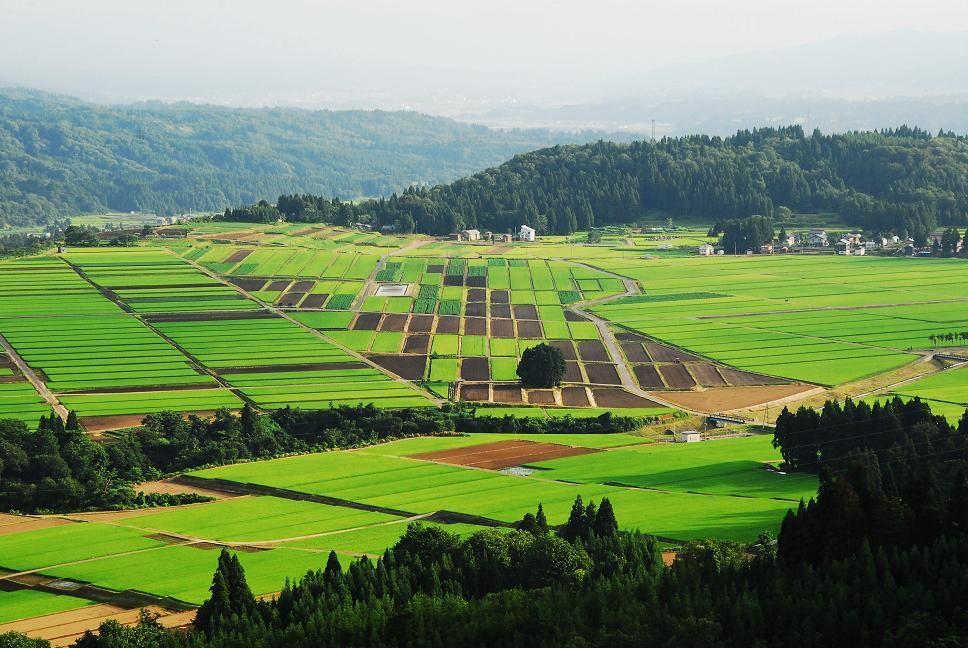 日本の原風景 : ふる里の夕景色...