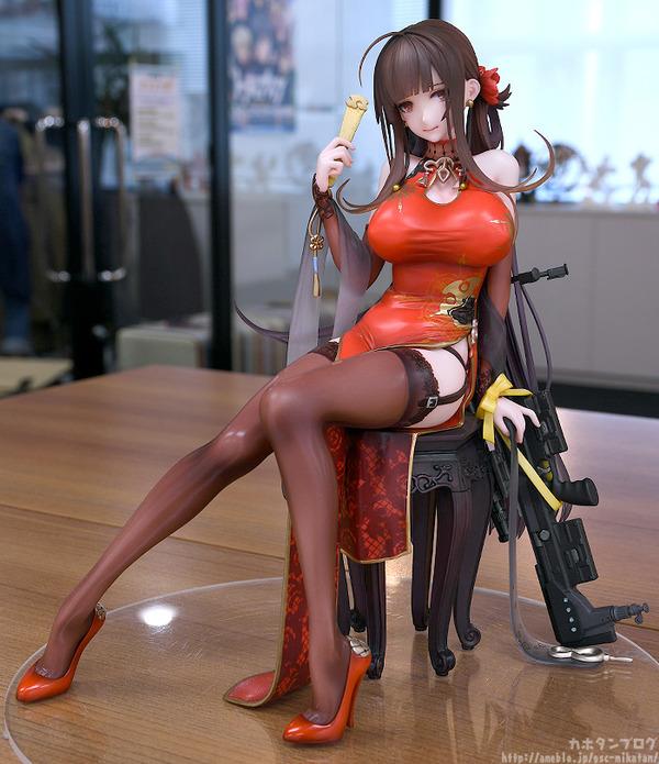 ドールズフロントライン DSR-50 チャイナドレス フィギュア エロ (3)