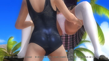 デッドオアアライブ5ラストラウンド パンツ エロ PS4 (4)