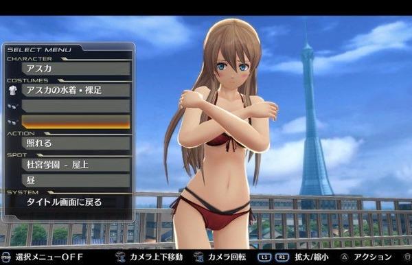 PS4『東亰ザナドゥeX+』高画質な女の子のパンチラ!じっくり見れるエロいビューアモードものサムネイル画像