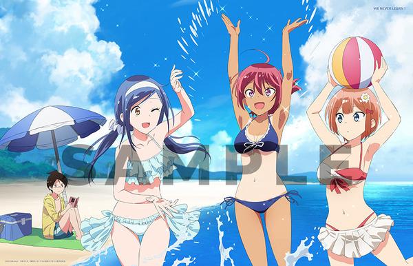 アニメ『ぼくたちは勉強ができない』BD/DVD店舗特典で女の子のエロい水着姿など!のサムネイル画像