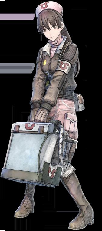 戦場のヴァルキュリア4 エロ ミネルバ アンジェ (3)