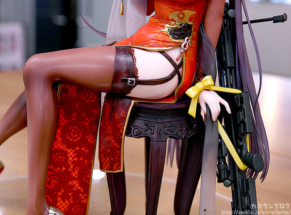 ドールズフロントライン DSR-50 チャイナドレス フィギュアエロ (12)