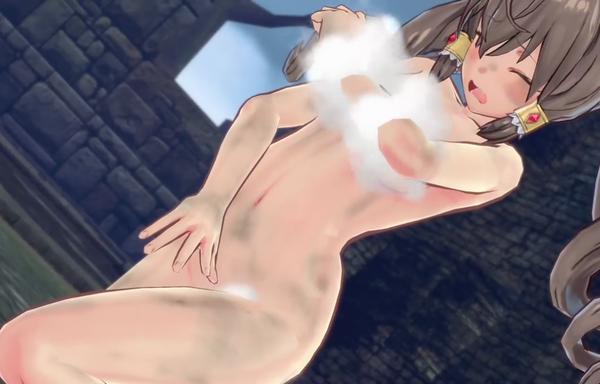 『バレットガールズファンタジア』TPSのプレイ動画!女の子がパンチラしたり全裸になったりのサムネイル画像