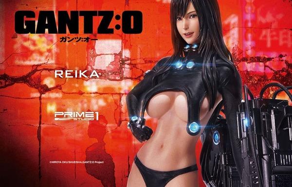 『GANTZ:O』レイカのめちゃくちゃエロい下乳とか丸見えになってるエロスーツフィギュア!のサムネイル画像