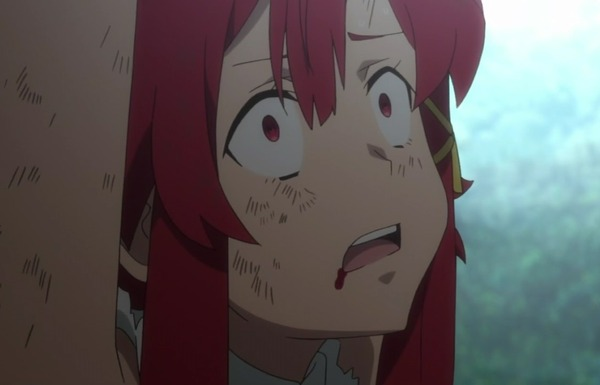アニメ『終末のイゼッタ』9話で女の子が鎖に縛られリョナってるエロシーンで薄い本的展開!のサムネイル画像