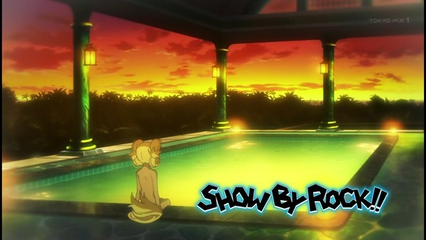SHOW BY ROCK!! アニメ 水着 温泉 (14)