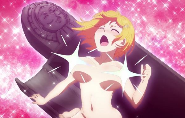 アニメ『ド級編隊エグゼロス』PVで女の子たちのエロいおっぱい丸出しや裸のエロシーン!のサムネイル画像