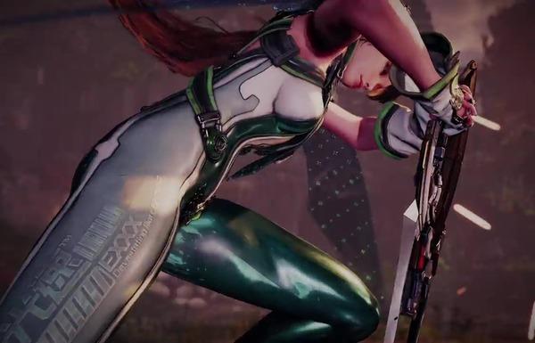 『Project EVE』エロい女の子のピチピチスーツの強調されたエロお尻のエロトレーラー!のサムネイル画像