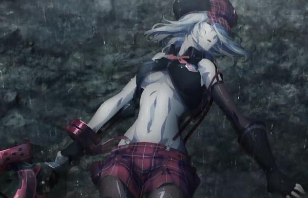 アニメ『ゴッドイーター』主人公がアリサのおっぱいに顔を埋めておっぱいを揉みまくるのサムネイル画像
