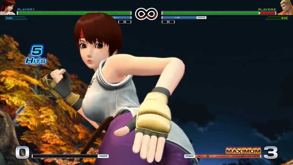 THE KING OF FIGHTERS XIV エロ ユリ・サカザキ (7)