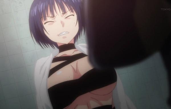 アニメ『UQ HOLDER!』4話で女の子のエロいシャワーシーンから裸のまま戦闘シーンに!のサムネイル画像