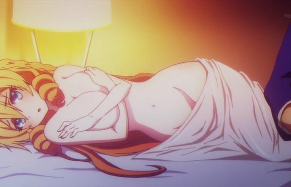 アニメ『武装少女マキャヴェリズム』3話で女の子のエロいおっぱいや全裸姿などエロシーンのサムネイル画像