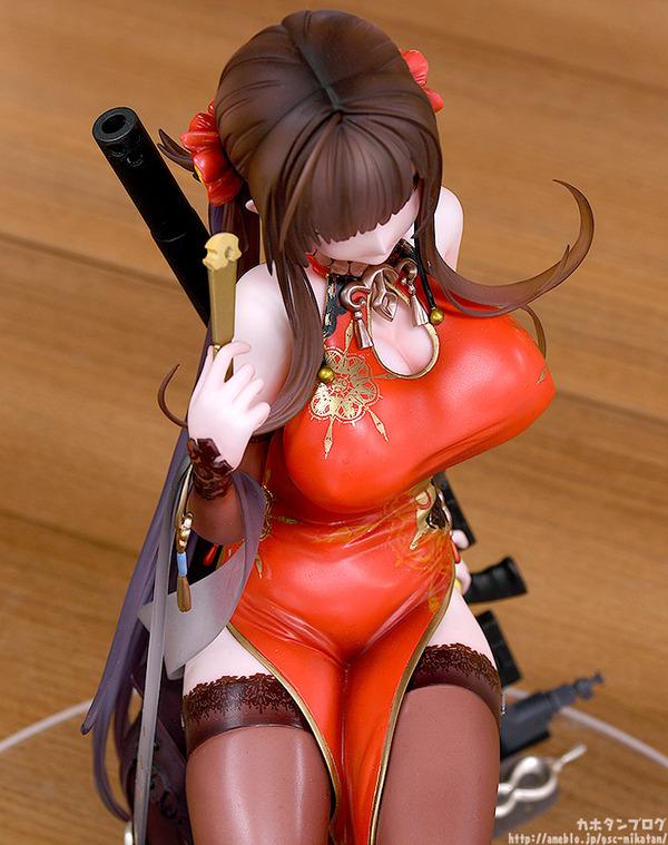 ドールズフロントライン DSR-50 チャイナドレス フィギュア エロ (7)