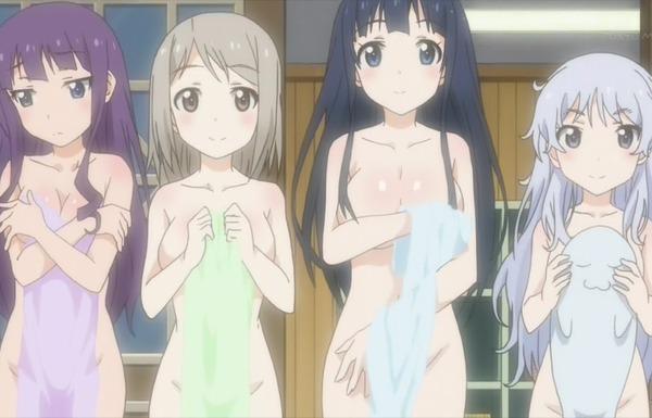 アニメ『あにトレ!EX』2期の7話でエロいお風呂回!女の子たちのエロすぎる入浴シーン!のサムネイル画像