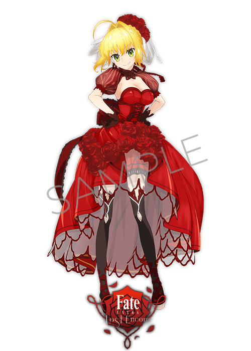 フェイト アニプレックス ドレス (2)