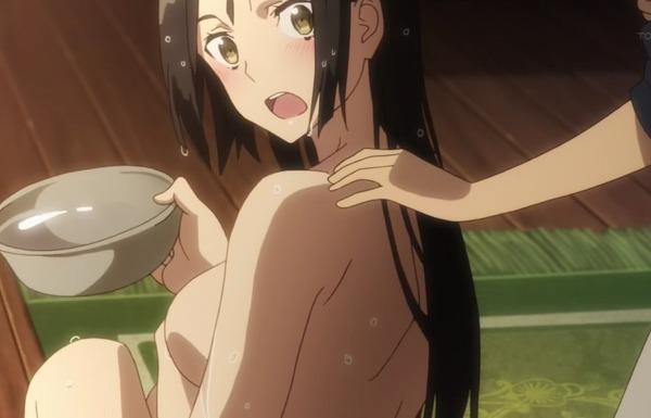 アニメ『終末のイゼッタ』8話で女の子のエロい全裸姿のラッキースケベシーン!のサムネイル画像