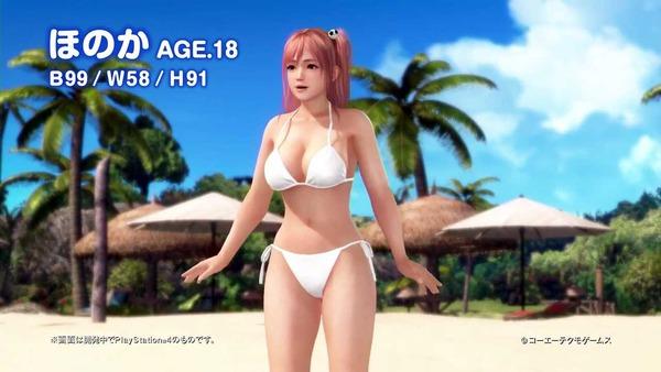 デッドオアアライブエクストリーム3 ほのか 水着 エロ (19)