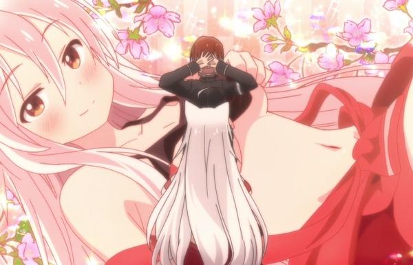 アニメ『うらら迷路帖』1話で女の子がたくし上げでエロいお腹見せで下乳とか丸見え!のサムネイル画像