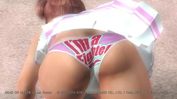 デッドオアアライブ5ラストラウンド パンツ エロ PS4 (103)