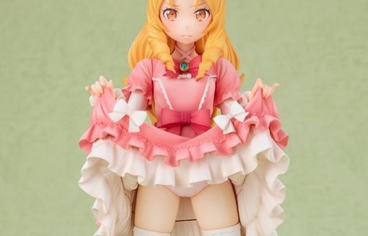 『エロマンガ先生』山田エルフ先生のスカートたくし上げでパンツを見せてるエロフィギュアのサムネイル画像
